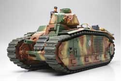 Tamiya 1/35 B1 bis (German Army), LIST PRICE $89