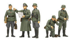 Tamiya German Field Commander Set, LIST PRICE $19