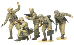 Tamiya 1/35 German Africa Corps Infantry (5 Figures), LIST PRICE $21