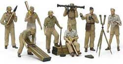 Tamiya 1/35 German Artillery Crew Africa Corp Luftwaffe, LIST PRICE $13.5
