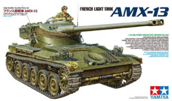 Tamiya 1:35 French Light Tank AMX-13, LIST PRICE $56