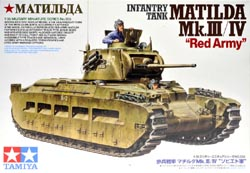 "Tamiya 1/35 Infantry Tank Matilda Mk.III/IV ""Red Army"", LIST PRICE $65"