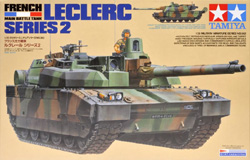 Tamiya 1/35 French Main Battle Tank Leclerc Series 2, DUE 6/20/2018, LIST PRICE $67