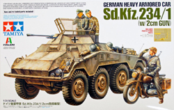 Tamiya 1:35 GER HVY ARM CAR KFZ, LIST PRICE $62