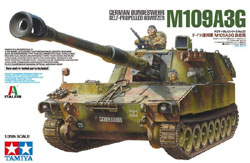 Tamiya 1:35 German Bundeswehr M109A3G Self-Propelled Howitzer, LIST PRICE $56