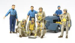 Tamiya WW-II US NAVY PILOTS 1:48, LIST PRICE $32