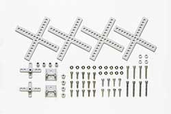 Tamiya CROSS UNIVERSAL ARM SET, LIST PRICE $8.25