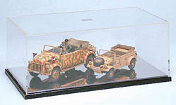 Tamiya DISPLAY CASE C W/mirror , LIST PRICE $33