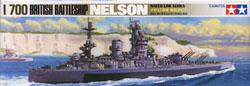 Tamiya BRITISH NELSON BATTLESHIP :700, LIST PRICE $19
