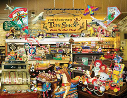 Train Enthusiast Old-Fashioned Toy Shop Puzzle 1000 Pieces, LIST PRICE $16.5