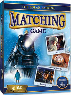 Train Enthusiast  Polar Express Matching Game, DUE 9/19/2019, LIST PRICE $11.99
