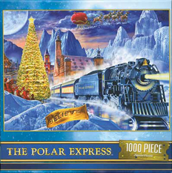 Train Enthusiast  The Polar Express 1000-Piece Puzzle, DUE 9/19/2019, LIST PRICE $14.99