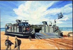 Trumpeter USMC LANDING CRAFT LCAC 1:144 , LIST PRICE $36.95