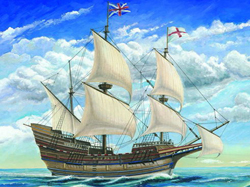 Trumpeter MAYFLOWER SAILING SHIP 1:60   , LIST PRICE $99.95