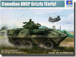 Trumpeter Canadian Grizzly 6X6 Apc 1:35, LIST PRICE $39.95