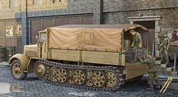 Trumpeter 1/35 German Sdkfz 7 8-ton Halftrack, Late Version, LIST PRICE $57.95