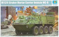 Trumpeter 1/35 M1129 Stryker Mortor Carrier w/120mm Mortar, LIST PRICE $47.95
