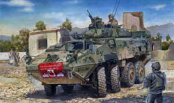 Trumpeter 1/35 LAV-III 8x8 Kodiak Lt Armored, LIST PRICE $42.95