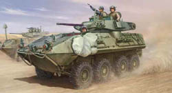Trumpeter 1/35 LAV-A2 8x8 Wheeled Armored Vehicle N Variant, LIST PRICE $35.95
