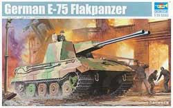 Trumpeter 1/35 German E-75 Flakpanzer Tank, LIST PRICE $42.95