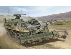 Trumpeter 1/35 M1132 Stryker ESV w/Surface Mine Plow, LIST PRICE $42.95