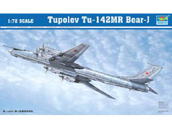 Trumpeter TU-142MR BEAR BOMBER 1:72     , LIST PRICE $122.79
