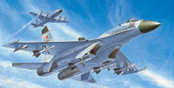 Trumpeter 1/72 Sukhoi Su-27, Early Type Russian Fighter, LIST PRICE $36.95