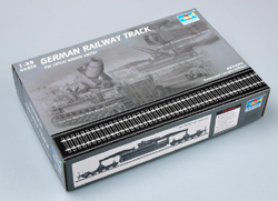 "Trumpeter 1/35 German Railway Track, 36"", LIST PRICE $21"