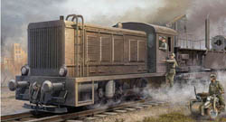 Trumpeter 1/35 German Wr360 C12 Armored Locomotive, LIST PRICE $71.95