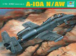 Trumpeter A-10 WARTHOG DOUBLE SEAT 1:32 , LIST PRICE $149.95