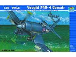 Trumpeter 1/32 Vought F4U4 Corsair, LIST PRICE $79.95