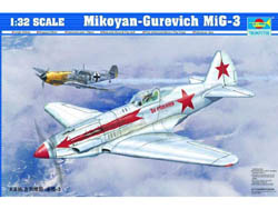 Trumpeter RUSSIAN MIG-3 1:32            , LIST PRICE $51.95