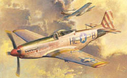 Trumpeter 1:32 P-51D Mustang Fighter. 296 parts. Features clear fusela, LIST PRICE $89.95