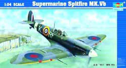 Trumpeter SUPERMARINE SPITFIRE Mk.VB 1:24, LIST PRICE $154.95