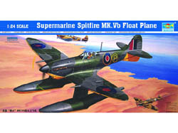 Trumpeter SPITFIRE Mk.VB FLOATPLANE 1:24, LIST PRICE $129.61