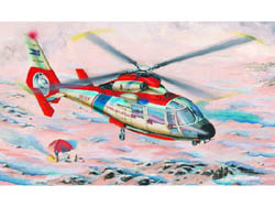 Trumpeter SA365N DAUPHIN HELICOPTER 1:48, LIST PRICE $27.25