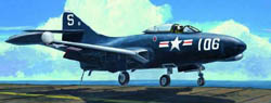 Trumpeter USN F-9F3 PANTHER 1:48 , LIST PRICE $39.95