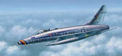 Trumpeter F-100D SUPER SABRE 1:48       , LIST PRICE $52.95