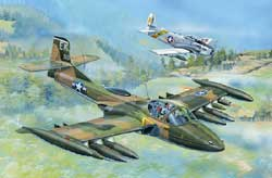 Trumpeter A-37A DRAGONFLY 1:48, LIST PRICE $48.95