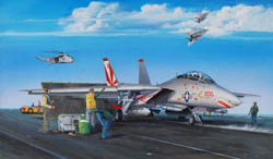 Trumpeter 1/32 F-14A Tomcat Fighter, LIST PRICE $209.95