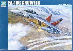 Trumpeter 1/32 EA-18G Growler Electronic Warfare Aircraft, LIST PRICE $209.95