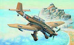 Trumpeter 1/32 German Ju-87R Stuka Attack Aircraft, LIST PRICE $89.95