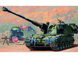 Trumpeter BRITISH 155mm AS-90 SP 1:35   , LIST PRICE $24.95