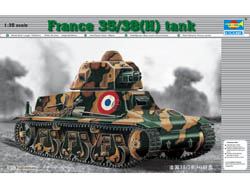 Trumpeter 1/35 French 38(H) Tank w/37mm    , LIST PRICE $24.95