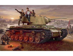 Trumpeter 1/35 KV-1 1942 Lightweight Tank, LIST PRICE $32.95