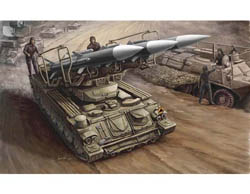 Trumpeter 1/35 Russian SAM6 Tank, LIST PRICE $26.95