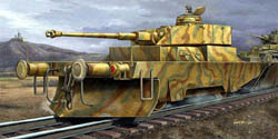 Trumpeter 1:35 German Panzerjagerwagen Variant II Armored Rail Car Kit, LIST PRICE $54.95