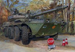 Trumpeter 1/35 Italian B1 Centauro Tank Destroyer, Late NV, LIST PRICE $49.95