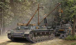 Trumpeter 1/35 German bergepanzer IV Recovery Vehicle, NV, LIST PRICE $69.95