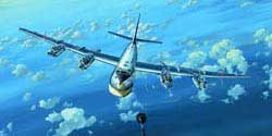 Trumpeter 1/144 TU-95MS Bear-H, LIST PRICE $53.95